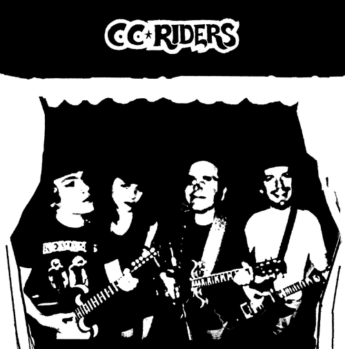 CC Riders - s/t lp (Spacecase Records)